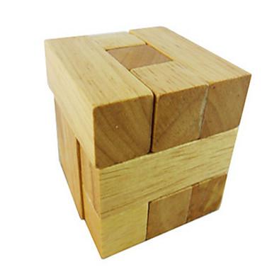 Drewniane puzzle Gry logiczne Układanka Kong Ming Zabawki Zabawki Test na inteligencję Drewniany Sztuk