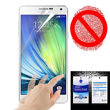 Screenprotector voor Samsung Galaxy A5 PET Voorkant screenprotector Mat