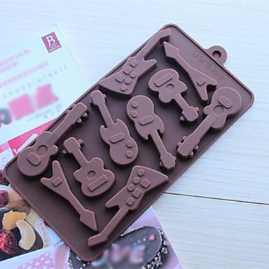 Molde Chocolate Biscoito Bolo Silicone Amiga-do-Ambiente Aniversário Alta qualidade