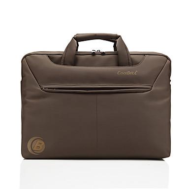 Coolbell 15,6 inç dizüstü bilgisayar çantası dell alienware / macbook / lenovo / hp cb-1142 için haberci çantası
