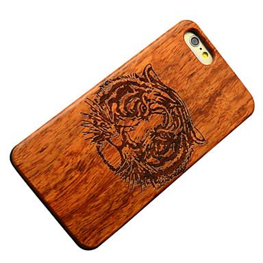 Para Capinha iPhone 5 Case Tampa Estampada Capa Traseira Capinha Animal Rígida Madeira para iPhone SE/5s iPhone 5