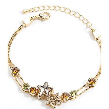 Damskie Bransoletki i łańcuszki na rękę Przyjaźń biżuteria kostiumowa Srebro standardowe Biżuteria Biżuteria Na Codzienny Casual