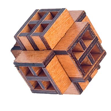 Drewniane puzzle Łamigłówki IQ Układanka Kong Ming Zabawki Zabawki Test na inteligencję Dla dziewczynek Dla chłopców 1 Sztuk