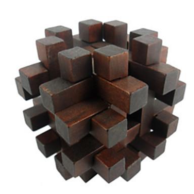 Drewniane puzzle Gry logiczne Układanka Kong Ming Układanka Luban Zabawki Zabawki Test na inteligencję Dla dziewczynek Dla chłopców Sztuk