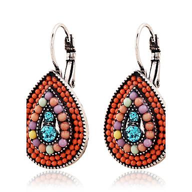 Pentru femei Cercei Rotunzi Lux Diamante Artificiale Aliaj Picătură Bijuterii Nuntă Petrecere Zilnic Costum de bijuterii