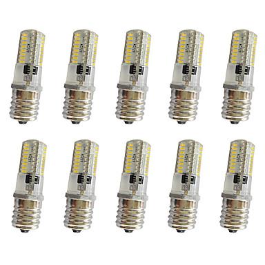 3W 280-300 lm E17 Żarówki LED kukurydza T 64 Diody lED SMD 3014 Przysłonięcia Ciepła biel Zimna biel AC220 AC 85-265V