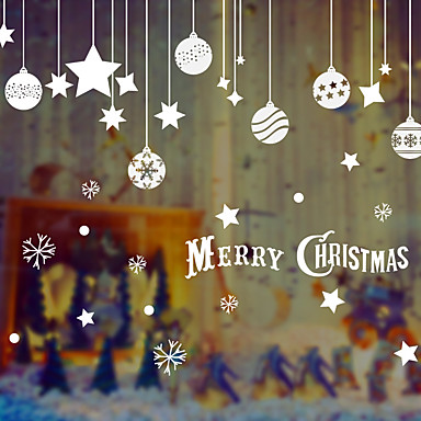 Naklejka na ścianę Postacie Święto Papier Świąteczna dekoracja