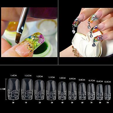 500 pcs Modny Codzienny Nail Art Design