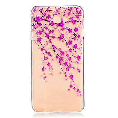 Kılıf Na Samsung Galaxy J7 Prime J5 Prime Przezroczyste Wytłaczany wzór Wzór Etui na tył Kwiaty Miękkie TPU na J7 (2016) J7 Prime J5