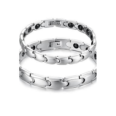 Męskie Damskie Bransoletki i łańcuszki na rękę Stal Biżuteria Biżuteria Na Casual