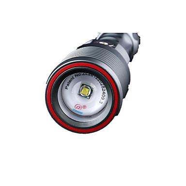Supfire Latarki LED LED 800 lm Tryb Cree T6 Zoomable Regulacja promienia Wodoodporne Niewielki rozmiar Łatwe przenoszenie