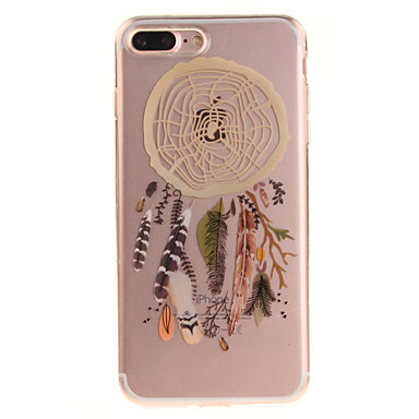 Varten IMD Läpinäkyvä Kuvio Etui Takakuori Etui Unisieppari Pehmeä TPU varten AppleiPhone 7 Plus iPhone 7 iPhone 6s Plus/6 Plus iPhone