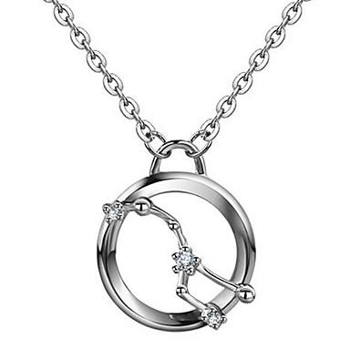 Γυναικεία Κρεμαστά Κολιέ Κοσμήματα Ασήμι Στερλίνας Βασικό Κοσμήματα Για Causal
