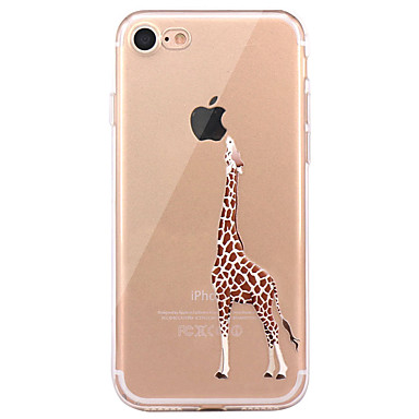 Kılıf Na Apple iPhone X iPhone 8 iPhone 8 Plus Ultra cienkie Wzór Czarne etui Zwierzę Miękkie TPU na iPhone X iPhone 8 Plus iPhone 8