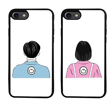 Για Με σχέδια tok Πίσω Κάλυμμα tok Κινούμενα σχέδια Μαλακή TPU για Apple iPhone 7 Plus iPhone 7 iPhone 6s Plus/6 Plus iPhone 6s/6