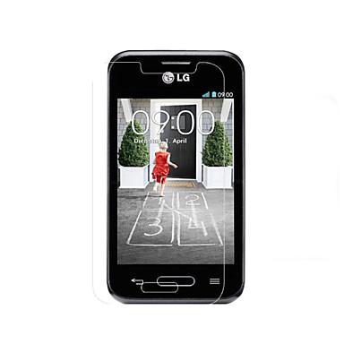 protetor de tela LCD HD de alta transparência para LG l40 (3 peças)