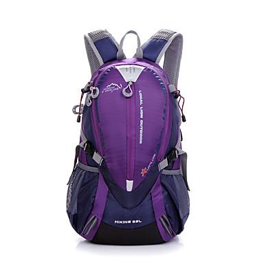 25 L sırt çantası Kamp & Yürüyüş Avlanma Tırmanma Serbest Sporlar Bisiklete biniciliği / Bisiklet Okul Seyahat Nemgeçirmez Su Geçirmez