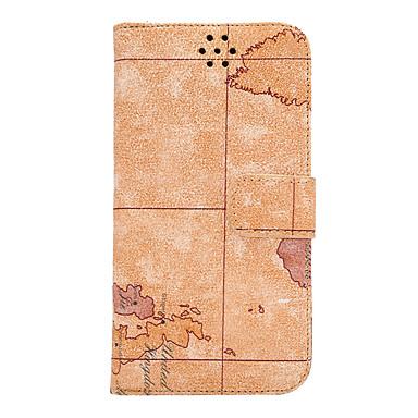 Etui Käyttötarkoitus HTC Korttikotelo Lomapkko Tuella Flip Suojakuori Scenery Kova PU-nahka varten HTC One M9