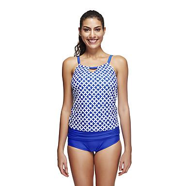 Kadın's Nefes Alabilir Yüksek Hava Alımı (>15,001g) Düz Elastane Terylene Dalgıç elbisesi Kısa Kol Mayolar-Yüzme Dalış Klasik Pasek