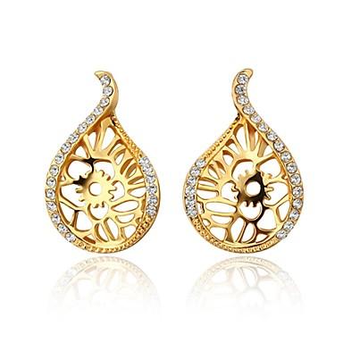 Γυναικεία Κουμπωτά Σκουλαρίκια Cubic Zirconia Ζιρκονίτης Κράμα Κρεμαστό Κοσμήματα Καθημερινά Causal