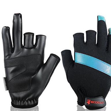 BOODUN/SIDEBIKE® Activități/ Mănuși de sport Mănuși pentru ciclism Purtabil Rezistent la uzură Protector Fără Degete Pescuit Unisex