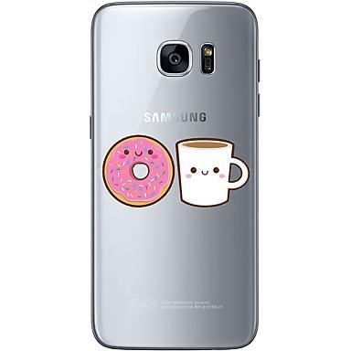 Kılıf Na Samsung Galaxy S7 edge S7 Ultra cienkie Przezroczyste Wzór Etui na tył Rysunek Miękkie TPU na S7 edge S7 S6 edge plus S6 edge S6