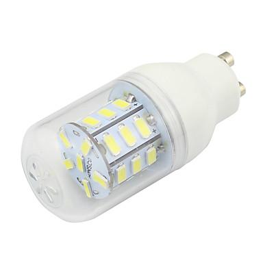 1szt 3W 190 lm GU10 Żarówki LED kukurydza T 27 Diody lED SMD 5730 Dekoracyjna Ciepła biel Zimna biel 6000K AC 220-240V
