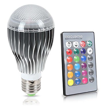 KWB 8W 850lm E26 / E27 Żarówki LED kulki A70 1 Koraliki LED COB Sensor Czujnik podczerwieni Przysłonięcia Wodoodporne Dekoracyjna Zdalnie