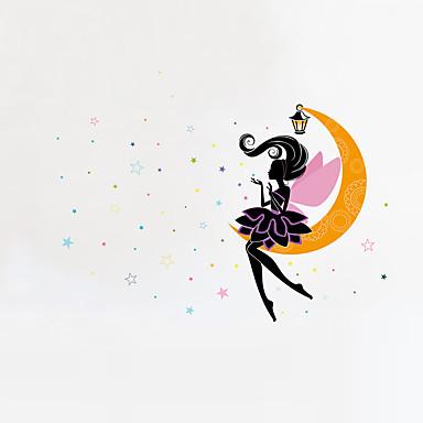 مناظر طبيعية الناس أزياء ملصقات الحائط لواصق حائط الطائرة لواصق حائط مزخرفة, الفينيل تصميم ديكور المنزل جدار مائي جدار زجاج / الحمام