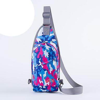 Τσάντα ώμου Τσάντα στήθους για Ποδηλασία/Ποδήλατο Κατασκήνωση & Πεζοπορία Ταξίδι Τρέξιμο Τζόγκινγκ Geantă Sport Αδιάβροχη Αδιάβροχο