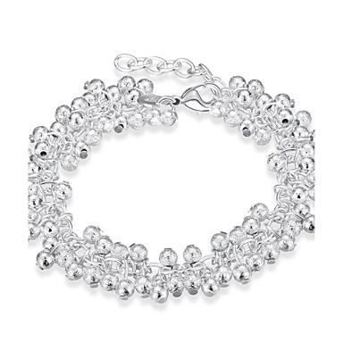 Damskie Bransoletki i łańcuszki na rękę Spersonalizowane Artystyczny Modny List minimalistyczny styl Miedź Posrebrzany Smok Biżuteria