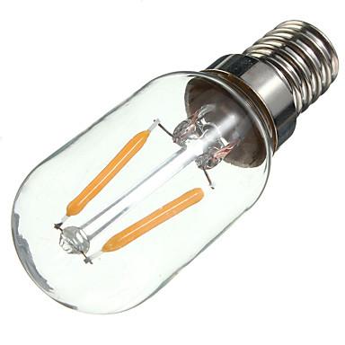1 개 2W 170lm E14 LED필라멘트 전구 (S14) 2 LED 비즈 COB 장식 따뜻한 화이트 220-240V