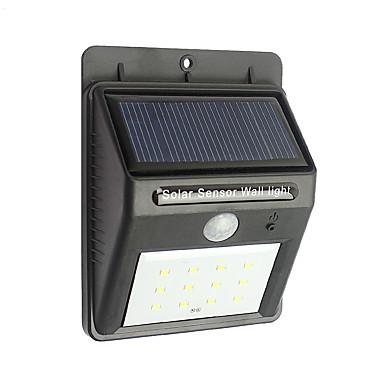 12 a condus cu reglaj electric impermeabil mișcare de securitate lumini solare în aer liber de noapte lumina senzor wireless