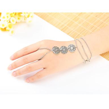 Γυναικεία Δαχτυλίδια με Βραχιόλι Φύση Ασήμι Στερλίνας Κοσμήματα Κοσμήματα Για