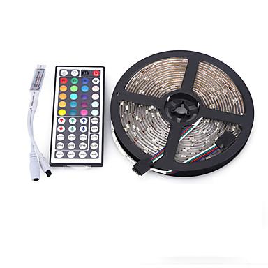Valosetit 300 LEDit RGB Kauko-ohjain Leikattava Himmennettävissä Vedenkestävä Vaihtuva väri Itsekiinnittyvä Ajoneuvoihin sopiva