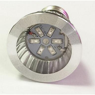 1kpl 3.5W 100lm Kasvava hehkulamppu 6 LED-helmet SMD 5730 Sininen Punainen 85-265V