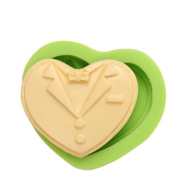 Koristeluväline Heart Orastava Candy Jää Suklaa Piirakka Cupcake Cookie Kakku Other Silikoni Ekologinen DIY Korkealaatuinen 3D Tarttumaton