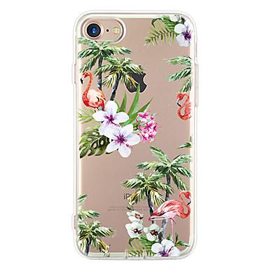 Na Ultra cienkie Wzór Kılıf Etui na tył Kılıf Kwiat Miękkie TPU na Apple iPhone 7 Plus iPhone 7 iPhone 6s Plus/6 Plus iPhone 6s/6