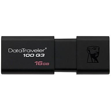 킹스톤 dt100g3 16GB USB 3.0 플래시 드라이브 미니 초소형
