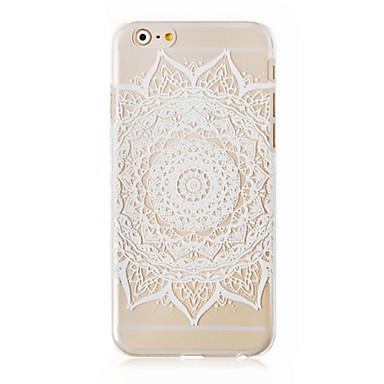 herstellen van oude manieren patroon transparante telefoon geval Cover Case voor iphone6 plus case