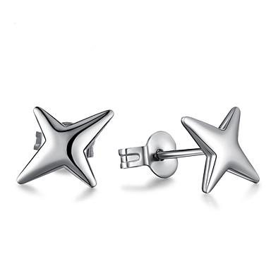 Vidali Küpeler Mücevher Gümüş Kaplama alaşım Mücevher Uyumluluk Düğün Parti Günlük