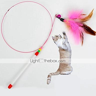 Kattenspeeltje Huisdierspeeltjes Speelhengels Veren speeltje Bel Voor huisdieren