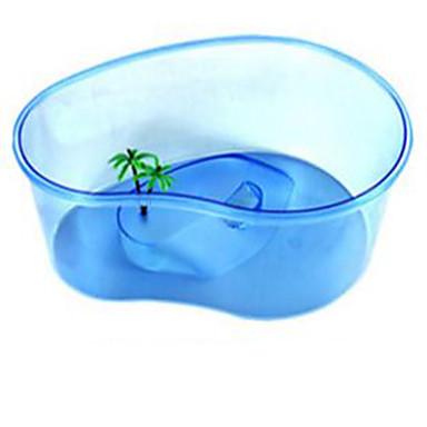 Μίνι Ενυδρεία Στολίδια Μη τοξικό και χωρίς γεύση Πλαστικό Μπλε