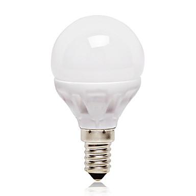 E14 Bulb LED Glob G45 14 led-uri SMD 2835 Alb Natural 416lm 4000K AC 220-240V