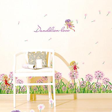 Dekoracyjne naklejki ścienne - Naklejki na słowa i cytaty Moda Wzory roślinne Words & Quotes Living Room Sypialnia Jadalnia