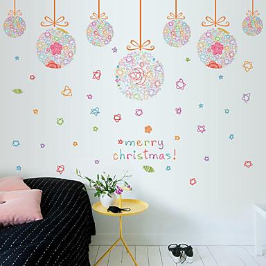 Dekoracyjne naklejki ścienne - Naklejki ścienne lotnicze Moda / Święta Bożego Narodzenia / Święto Living Room / Sypialnia / Jadalnia