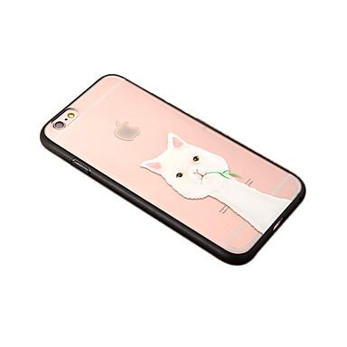 Varten Pölynkestävä Etui Takakuori Etui Eläin Kova PC varten Apple iPhone 7 Plus iPhone 6s Plus/6 Plus