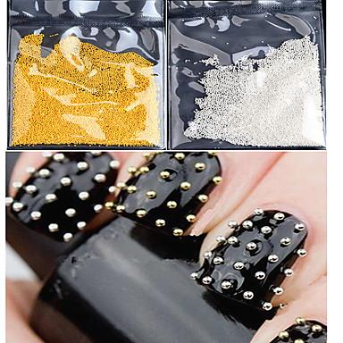 50g Sanat Dekorasyon Nail Rhinestone inciler Makyaj Kozmetik Sanat Tasarım Nail