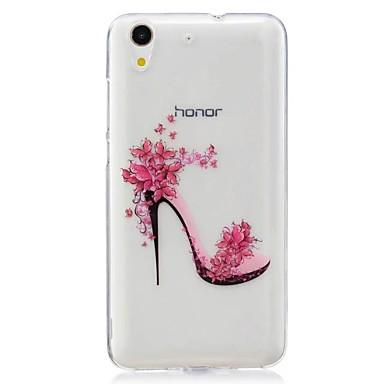 Na Ultra cienkie Wzór Kılıf Etui na tył Kılıf Seksowna dziewczyna Miękkie TPU na Huawei Huawei Honor 5C
