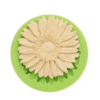 coacere Mold Floare Care înmugurește pentru Candy Gheață Ciocolatiu Cupcake Biscuiți Tort Other Silicon Ecologic Reparații Calitate